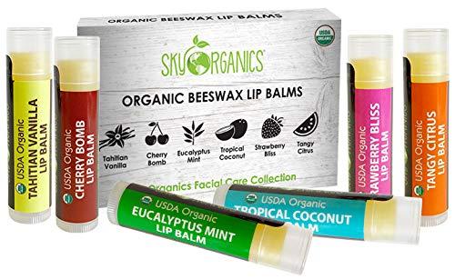Flavored Lip Balm, Clear Lip Gloss, Organic Lip Balm