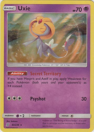 Top 10 Uxie Pokemon Card of 2021