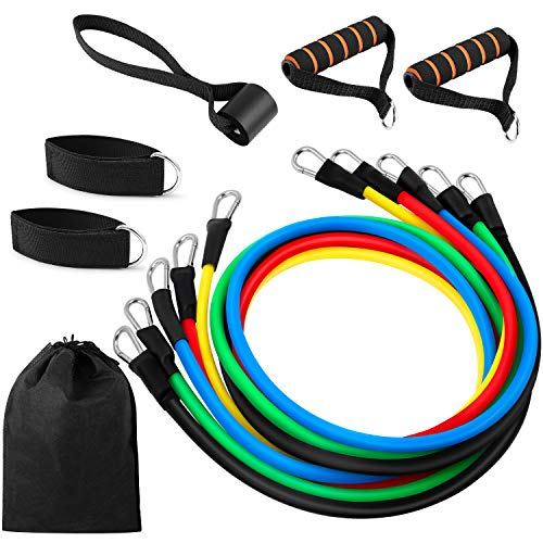 Top 10 Vsnoon 11 Pack Resistance Bands Set of 2021