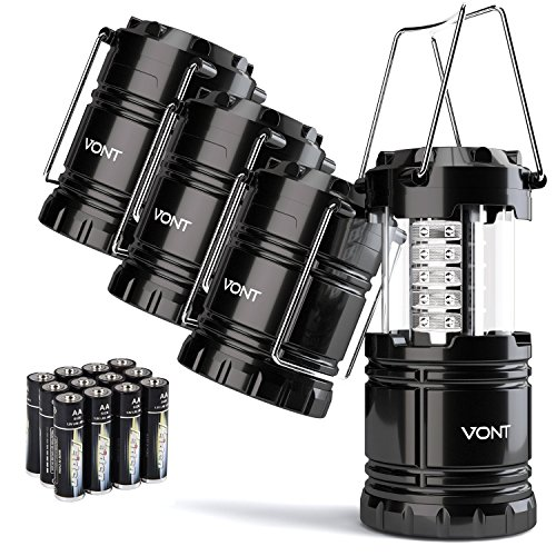 Top 10 Vont 4 Pack Led Camping Lantern of 2021