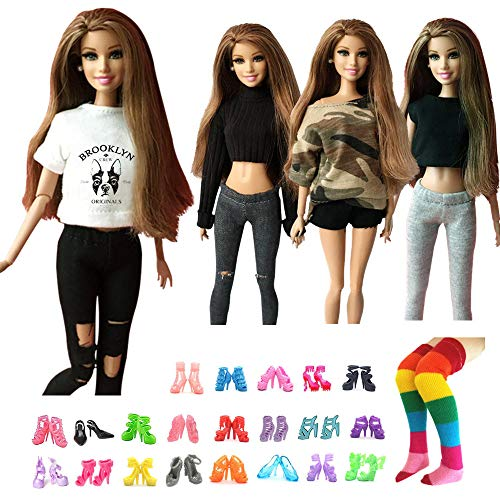Top 10 Uusave 4 Sets Handmade Doll Outfits of 2021