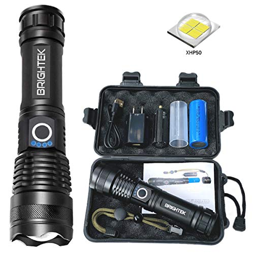 Top 10 Xhp50 Flashlight 90000 With Battery of 2020