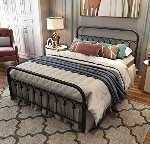 Top 10 Wrought Iron Bed Frame Queen of 2021