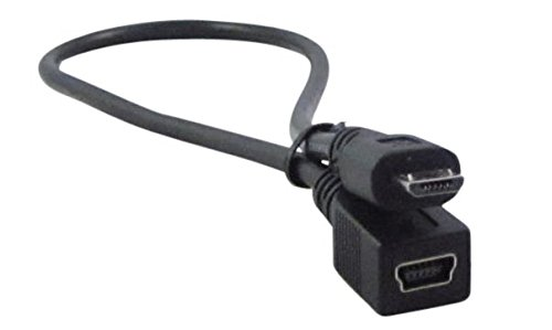 Top 10 Ycs Basics 1 Foot Usb Micro Male To Usb Mini Female Adapter Cable of 2021