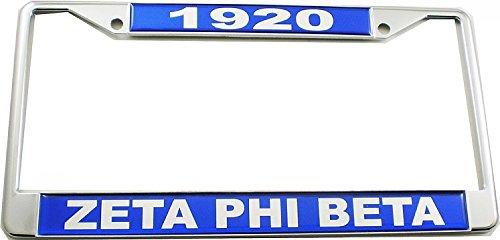 Top 10 Zeta Phi Beta License Plate of 2021