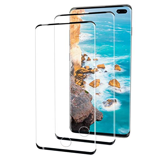 Top 10 Yrmjk 2 Pack Galaxy S10 Plus Screen Protector,tempered Glass of 2021