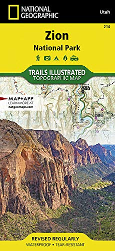 Top 10 Zion National Park Map of 2020