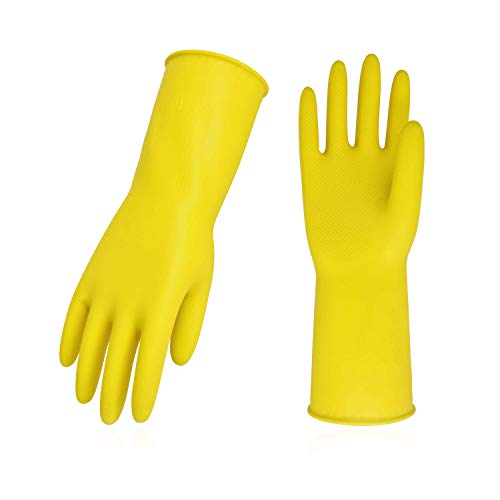 Top 10 Vgo 10pairs Reusable Household Cleaning Dishwashing Kitchen Glove of 2021