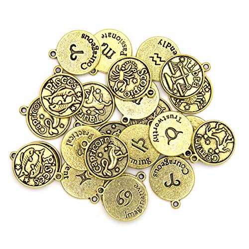 Top 10 Zodiac Charms For Jewelry Making of 2021