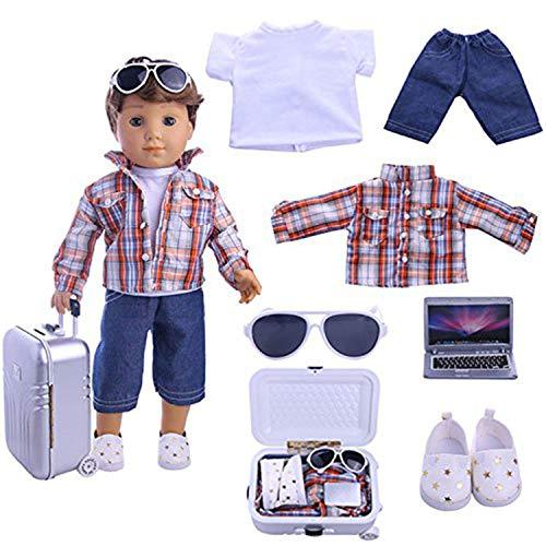 Top 10 Zwsisu Boy Doll Clothes of 2021