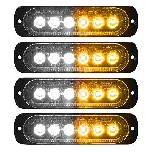 Top 10 Vkgat 4pcs Sync Feature 6led Strobe Light Surface Mount of 2021