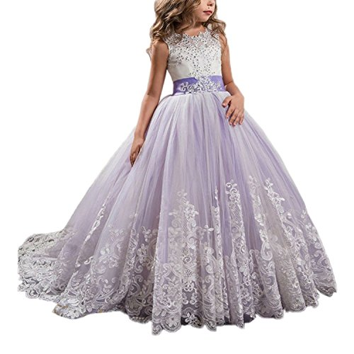 Top 10 Wde Princess Lilac Long Pageant Dresses Puffy Tulle Ball Gown of 2021