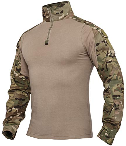 Top 10 Xkttac Tactical-combat-airsoft-military-shirt of 2021