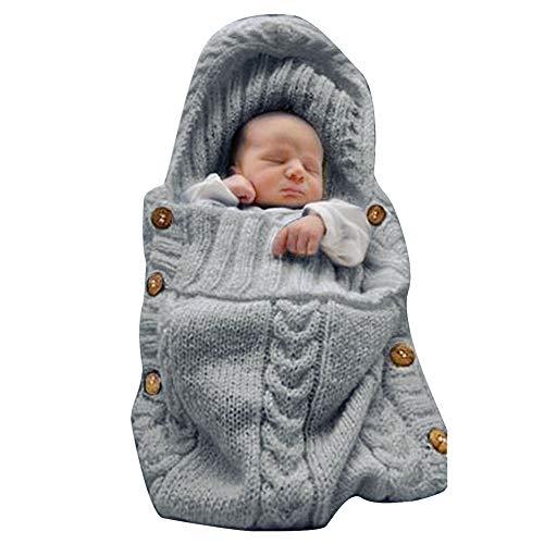 Top 10 Xmwealthy Newborn Baby Wrap Swaddle Blanket Knit Sleeping Bag of 2021