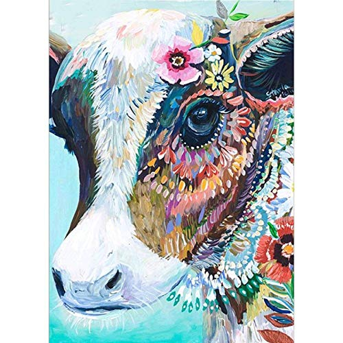 Top 10 Wyqn Wyqn0001 Full Drill, Colorful Cow of 2021